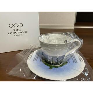 ニッコー(NIKKO)の【非売品】ニッコー製:THE THOUSAN D KYOTO カップ&ソーサー(食器)