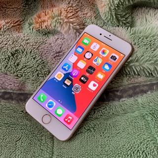 iPhone - iPhone8 64GB ゴールドSIMロック解除シムフリー