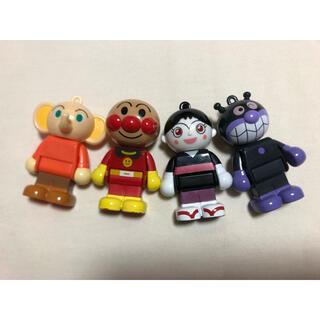 バンダイ(BANDAI)のアンパンマンブロックラボ 人形4体(積み木/ブロック)