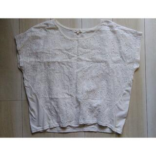 ロペピクニック(Rope' Picnic)のROPE PICNIC 花刺繍トップス ロペピクニック(Tシャツ(半袖/袖なし))