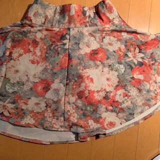 ロジータ(ROJITA)の花柄スカート(ROJITA)(ひざ丈スカート)