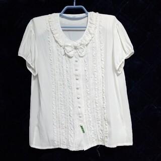 インゲボルグ(INGEBORG)の2980インゲボルグプラウス(シャツ/ブラウス(半袖/袖なし))