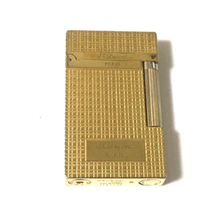エステーデュポン(S.T. Dupont)の○エス・テー・ デュポン○ ライン2 フランス製 ライター ゴールド 良音(タバコグッズ)