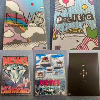 ニュース(NEWS)のNEWS DVD ライブ 5枚セット(ミュージック)