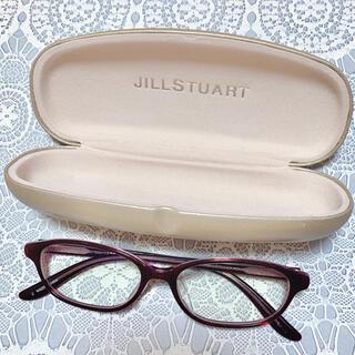 JILLSTUART - 期間限定値下げ中!ジルスチュアート メガネ 度あり メガネケース