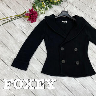 FOXEY - 美品★フォクシー★FOXEY★ジャケット★カーディガン★ブルゾン★38