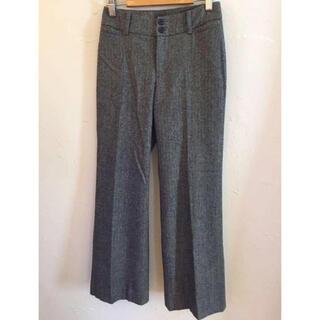 イネド(INED)のINED イネド スラックス パンツ 絹 カシミヤ混 サイズ 5(カジュアルパンツ)
