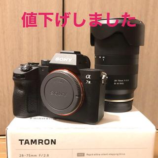 SONY - SONY A7iii A7III TAMRON 28-75 レンズセット