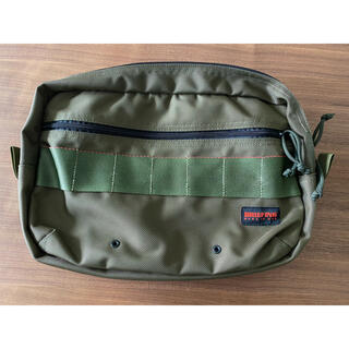 BRIEFING - BRIEFING FANNY PACK 2 & PP-4 moss