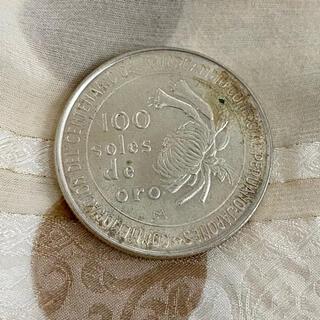 日本ペルー修好100周年記念 1873-1973 100soles de oro(貨幣)