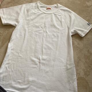 HOLLYWOOD RANCH MARKET - ハリウッドランチマーケット HRM ハリラン Tシャツ ホワイト 新品未使用