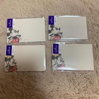 ディズニー(Disney)のメッセージカード ミッキー ミニー(カード/レター/ラッピング)