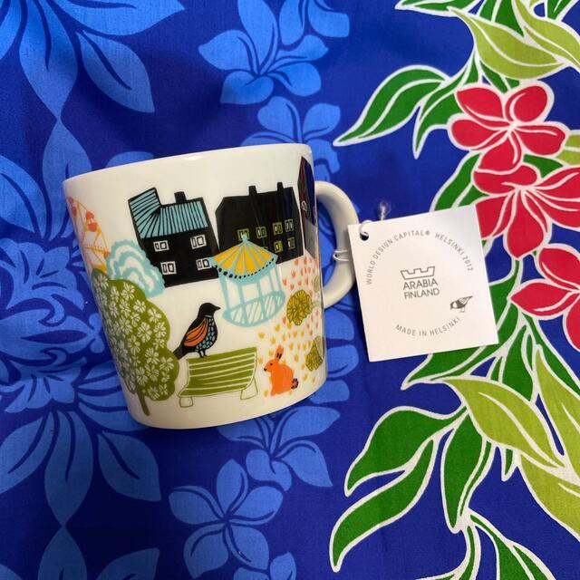 ARABIA(アラビア)のARABIA ヘルシンキ2012 ホームタウンマグ パーク インテリア/住まい/日用品のキッチン/食器(グラス/カップ)の商品写真