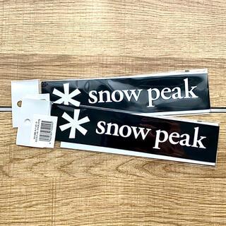 Snow Peak - スノーピーク ロゴステッカー アスタリスクS snow peak NV-006