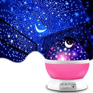 プラネタリウム ライト 寝かしつけ おもちゃ 360°回転 8種類ライトカラー