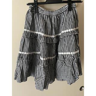 エミリーテンプルキュート(Emily Temple cute)のエミリーテンプルキュート ギンガムチェックスカート(ひざ丈スカート)