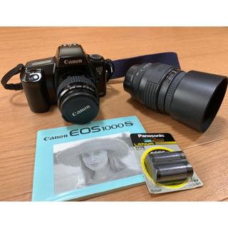 Canon - 【美品】CANON  EOS 1000S フィルムカメラ 完動品ズームレンズ付属