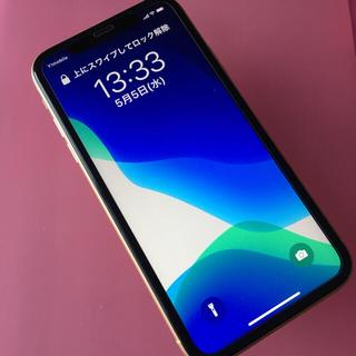 iPhone - 【美品】iPhone  XR 64GB  SIMフリー  バッテリー90%
