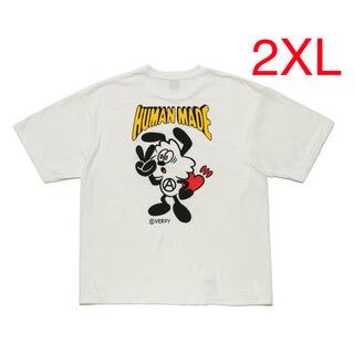 GDC - HUMAN MADE × VERDY tシャツ 2XLサイズ