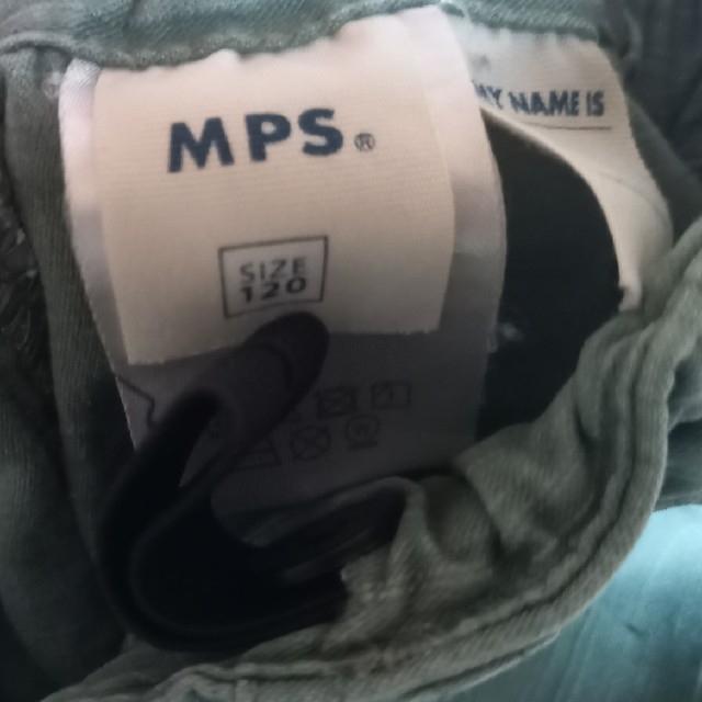 MPS(エムピーエス)のMPS 長ズボン 八分丈 120 2着セット キッズ/ベビー/マタニティのキッズ服男の子用(90cm~)(パンツ/スパッツ)の商品写真