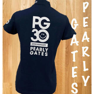 PEARLY GATES - 美品⛳️パーリーゲイツ 30周年限定  半袖  ハイネックシャツ  モックシャツ
