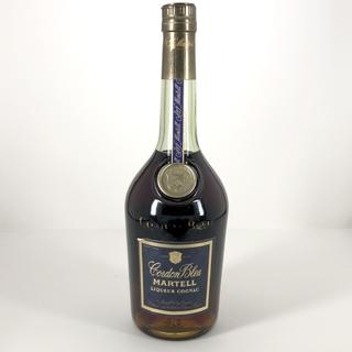 マーテル コルドンブルー 青ラベル 旧ボトル グリーンボトル 700ml(ブランデー)