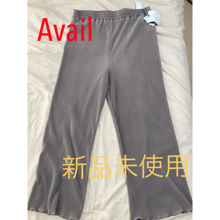 アベイル(Avail)の【Avail】プリーツワイドパンツ 大きいサイズ 4L(カジュアルパンツ)