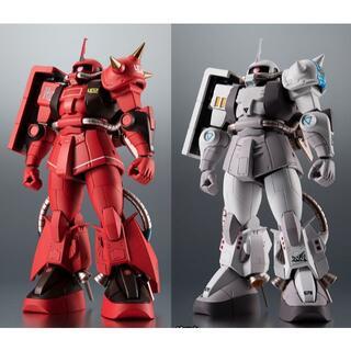 BANDAI - ROBOT魂 MS-06R 2体とキャスバル専用ガンダム
