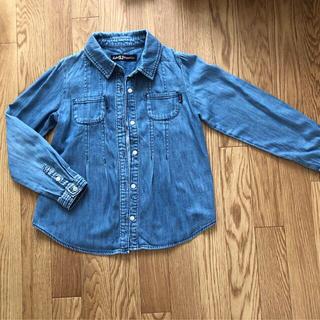ジェニィ(JENNI)のJENNI デニムシャツ 140(ジャケット/上着)