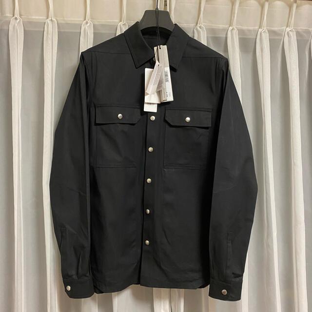 Rick Owens(リックオウエンス)のRick Owens ジャケットシャツ Playboi Carti着用 メンズのジャケット/アウター(ブルゾン)の商品写真