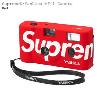 シュプリーム(Supreme)のSupreme Yashica MF-1 Camera red 赤 レッド(フィルムカメラ)