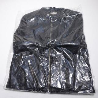 ナノユニバース(nano・universe)のnanouniverse ライダースジャケット メンズ ブラック(ライダースジャケット)
