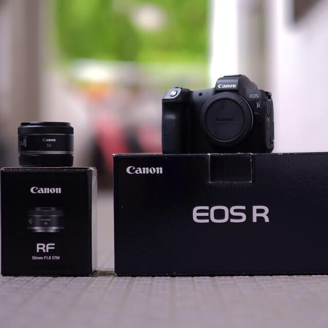 Canon(キヤノン)のCanon EOS R  マウントアダプターとレンズセット スマホ/家電/カメラのカメラ(その他)の商品写真