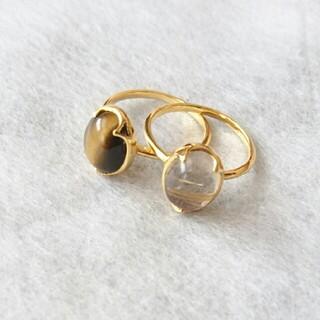 アネモネ(Ane Mone)の美品☆天然石☆リング(リング(指輪))