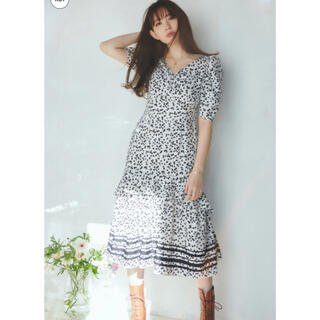 herlip to♡ Lip Floral-printed Midi Dress(ロングワンピース/マキシワンピース)
