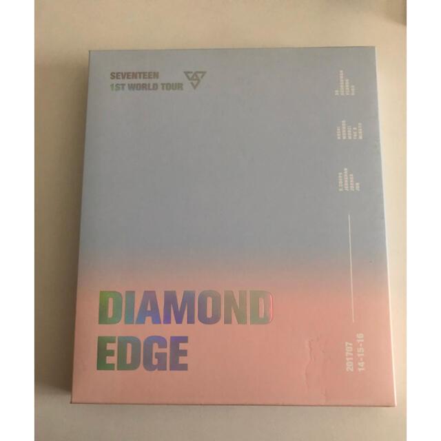 SEVENTEEN(セブンティーン)のSEVENTEEN DVD DIAMOND EDGE エンタメ/ホビーのDVD/ブルーレイ(アイドル)の商品写真