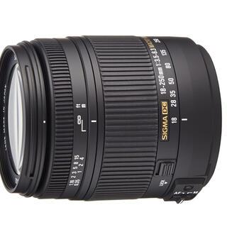 SIGMA - Nikon用 SIGMA 高倍率ズームレンズ 18-250mm F3.5-6.3