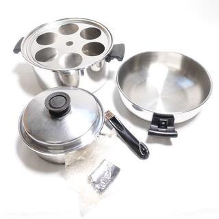 Amway - Amway 鍋セット シルバー