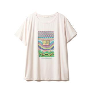ジェラートピケ(gelato pique)のジェラートピケ さくらももこ Tシャツ ちびまる子ちゃん(Tシャツ(半袖/袖なし))