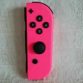 Nintendo Switch - 任天堂 Switch ジョイコン[Joy-Con]  ネオンピンク 右