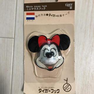 ディズニー(Disney)の未使用 ミニーマウス フック レトロDisney(その他)