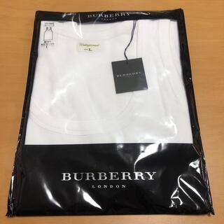 BURBERRY - BURBERRY バーバリー 肌着 タンクトップ インナー メンズLサイズ