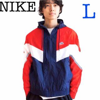 ナイキ(NIKE)の新品 ナイキ ウィンドランナー+ フーデッドジャケットL(ナイロンジャケット)