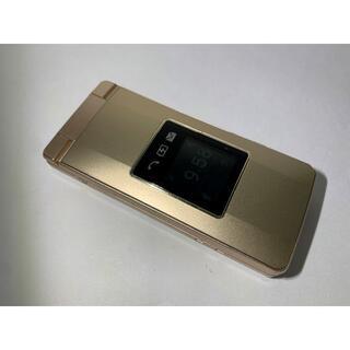 良品 SoftBank 807SH(ゴールド)0822000571R 5/5m(携帯電話本体)