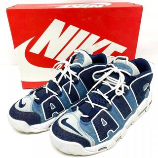 NIKE AIR MORE UPTEMPO 96 QS DENIM エア モア (スニーカー)