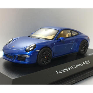 ポルシェ(Porsche)のポルシェ 911 カレラ4GTS サファイアブルー 1/43モデルカー(ミニカー)