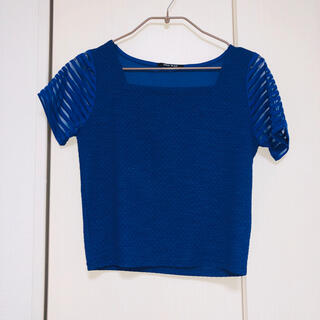 ワンウェイ(one*way)のone way 袖シースルー Tシャツ(Tシャツ(半袖/袖なし))
