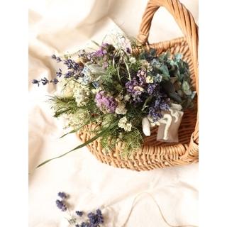 初夏。ラベンダー薫るアンティーク紫陽花スワッグ。ドライフラワースワッグ。母の日(ドライフラワー)