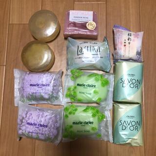 シセイドウ(SHISEIDO (資生堂))の固形石鹸 11個(ボディソープ/石鹸)