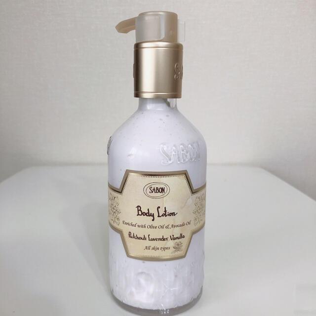 SABON(サボン)のSABON ボディローション パチュリ・ラベンダー・バニラ 200ml コスメ/美容のボディケア(ボディローション/ミルク)の商品写真